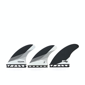 Futures Dhd Medium Honeycomb Fin - Black/white