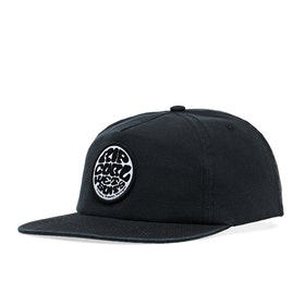 Rip Curl Washed Wetty Snapback Cap - Washed Black