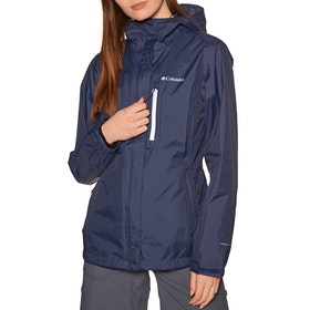 Columbia Pouring Adventure II Womens Waterproof Jacket - Nocturnal, Whit