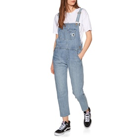 Carhartt Bib Overall Dungarees - Blue Light Stone Washed