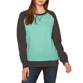 Burton Keeler Crew Womens Sweater - Buoy Blue/phantom