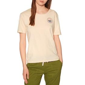 Burton Ashmore Scoop Short Sleeve T-Shirt - Creme Brulee