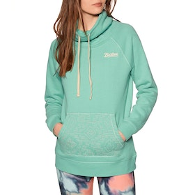 Burton Indie Crush Neck Pullover Hoody - Buoy Blue