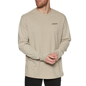 Patagonia Fitz Roy Horizons Responsibili Tee , Långärmad T-shirt - Pumice
