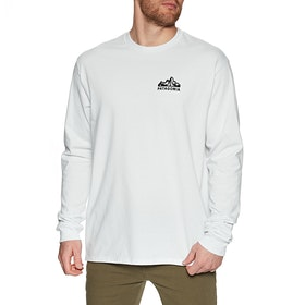 T-Shirt LS Patagonia Fitz Roy Scope Responsibili Tee - White