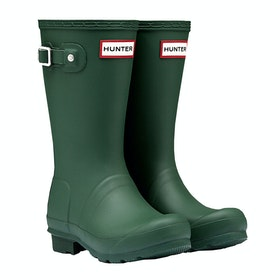 Hunter Original Childrens Wellington Boots - Hunter Green