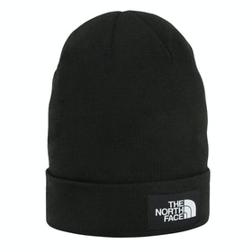 North Face Dock Worker Recycled Beanie - TNF Black