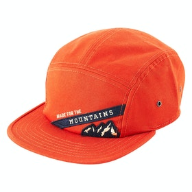 United by Blue Mountain Pennant 5-panel Cap - Brick Red
