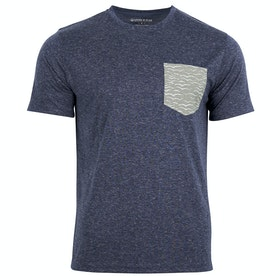 United by Blue Mens Printed Pocket T Shirt - Midnight