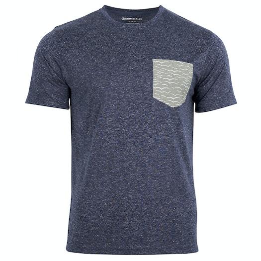 T-Shirt à Manche Courte United by Blue Mens Printed Pocket