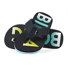 Billabong All Day Theme Boys Sandals - Navy