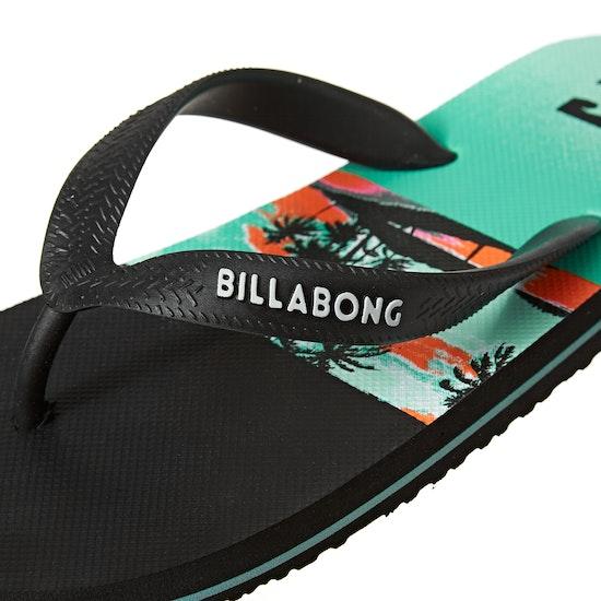 Billabong Tides Print Flip Flops
