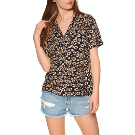 Superdry Arizona Vintage Short Sleeve Shirt - Leopard Print