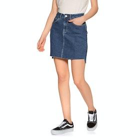 Superdry Denim Mini Skirt - Dark Indigo Aged