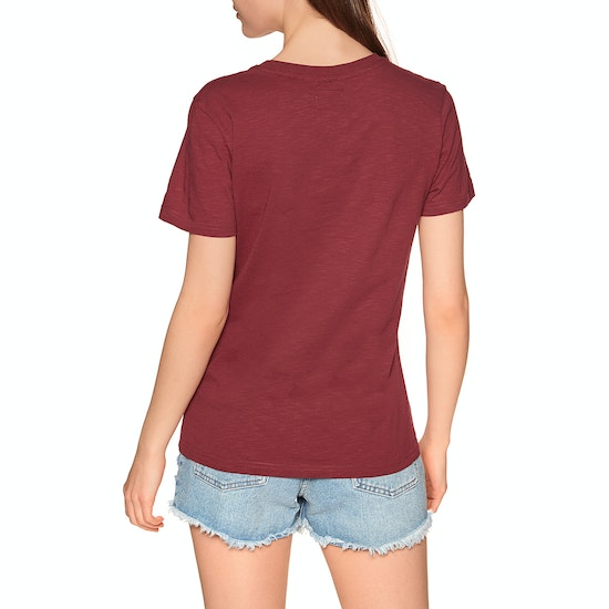 Superdry Serif Floral Embroidered Entry Short Sleeve T-Shirt