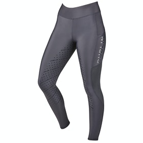 Dublin Gabriella Sculpt Full Seat Grip Damen Riding Tights - Carbon