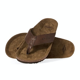 Rip Curl Foundation Sandals - Brown Tan
