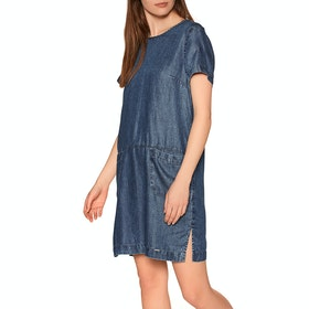 Superdry Desert T-Shirt Dress - Indigo Light