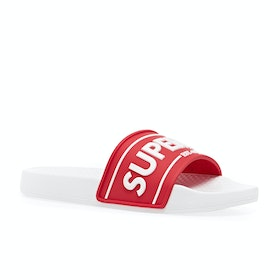 Superdry Edit Chunky Womens Sliders - Red