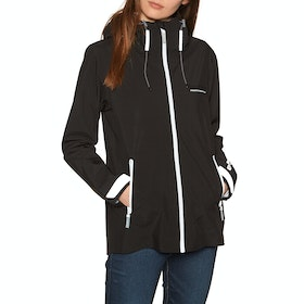 Superdry Essentials Harpa Waterproof Jacket - Black