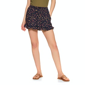 Superdry Summer Beach Short Womens Shorts - Navy Floral