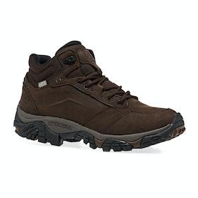 Merrell Moab Adventure Mid WTPF Walking Boots - Dark Earth