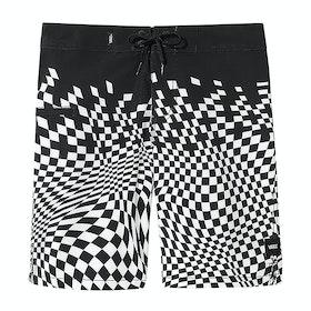Boardshort Vans Warped Checker - Black