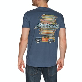 T-Shirt à Manche Courte Rietveld Got Boards - Indigo Blue