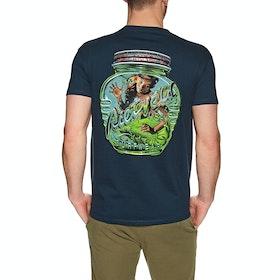 T-Shirt à Manche Courte Rietveld Magic Bottle - Heather Navy