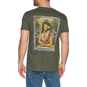 T-Shirt à Manche Courte Rietveld Mona Kea - Military Green