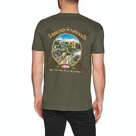T-Shirt à Manche Courte Rietveld Weekend Warrior - Millitary Green