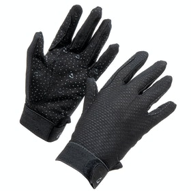Shires Aubrion Lightweight Riding Gloves - Black