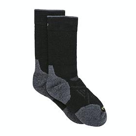 Smartwool PhD Outdoor Medium Crew Walking Socks - Black