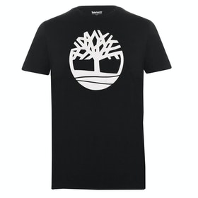 Koszulka z krótkim rękawem Timberland Kennebec River Brand Tree - Black