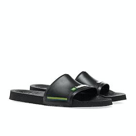 Havaianas Brasil Sliders - Black