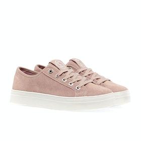 Superdry Flatform Sleek Womens Shoes - Soft Pink
