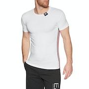 T-Shirt à Manche Courte Emporio Armani Crew Neck Stetch Cotton