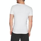 Emporio Armani Crew Neck Stetch Cotton Short Sleeve T-Shirt
