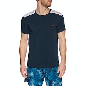 Emporio Armani Crew Neck 1 Short Sleeve T-Shirt - Blue Navy