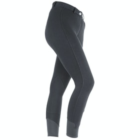 Shires Saddlehugger Ladies Riding Breeches - Black