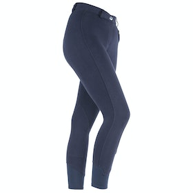 Shires Saddlehugger Ladies Riding Breeches - Navy