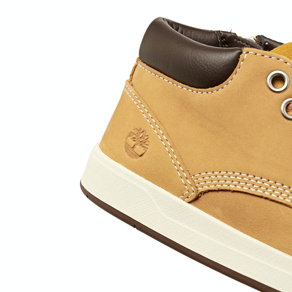 Timberland Davis Square Leather Chukka Дети Сапоги
