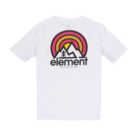 Element Sonata Boys Short Sleeve T-Shirt - Optic White