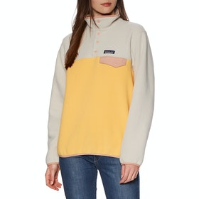 Patagonia Lightweight Synchilla Snap T Womens Fleece - Saffron