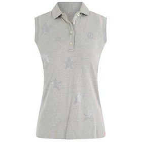 Imperial Riding Stardust Sleeveless Dames Poloshirt - Grey