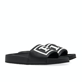 Sliders Polo Ralph Lauren Cayson Polo - Black White