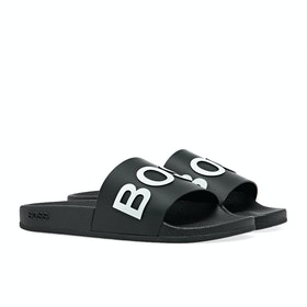 BOSS Solar Slider Men's Slippers - Black