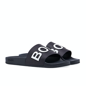 BOSS Solar Slider Men's Slippers - Navy