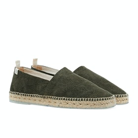 Castaner Pablo - Recycled Canvas Espadrilles - Verde Musgo
