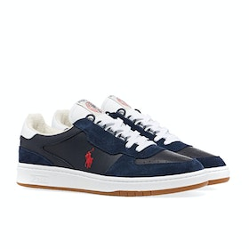 Scarpe Polo Ralph Lauren Polo Court - Navy Red